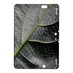 Leaf Detail Macro Of A Leaf Kindle Fire Hdx 8 9  Hardshell Case by Nexatart