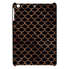 Scales1 Black Marble & Brown Stone Apple Ipad Mini Hardshell Case by trendistuff