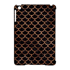 Scales1 Black Marble & Brown Stone Apple Ipad Mini Hardshell Case (compatible With Smart Cover) by trendistuff