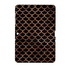 Scales1 Black Marble & Brown Stone Samsung Galaxy Tab 2 (10 1 ) P5100 Hardshell Case  by trendistuff