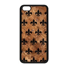 Royal1 Black Marble & Brown Stone Apple Iphone 5c Seamless Case (black) by trendistuff