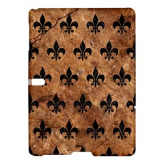 Royal1 Black Marble & Brown Stone Samsung Galaxy Tab S (10 5 ) Hardshell Case  by trendistuff
