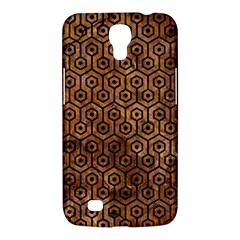 Hexagon1 Black Marble & Brown Stone (r) Samsung Galaxy Mega 6 3  I9200 Hardshell Case by trendistuff