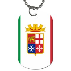 Naval Ensign Of Italy Dog Tag (two Sides) by abbeyz71