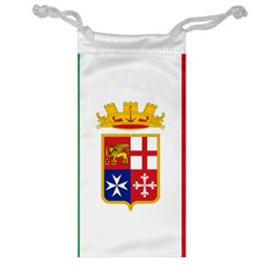 Naval Ensign Of Italy Jewelry Bag by abbeyz71