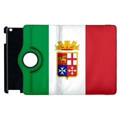 Naval Ensign Of Italy Apple Ipad 3/4 Flip 360 Case by abbeyz71