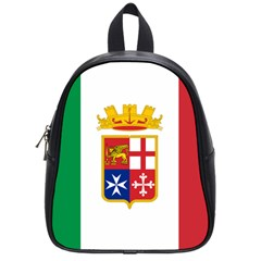 Naval Ensign Of Italy School Bags (small)  by abbeyz71