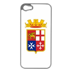 Naval Ensign Of Italy Apple Iphone 5 Case (silver) by abbeyz71