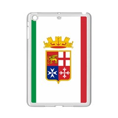 Naval Ensign Of Italy Ipad Mini 2 Enamel Coated Cases by abbeyz71