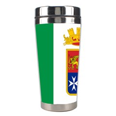 Naval Ensign Of Italy Stainless Steel Travel Tumblers by abbeyz71