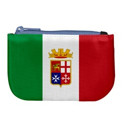 Naval Ensign Of Italy Large Coin Purse by abbeyz71