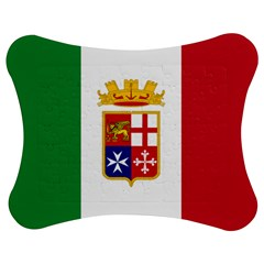 Naval Ensign Of Italy Jigsaw Puzzle Photo Stand (bow) by abbeyz71