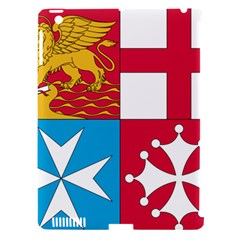 Naval Jack Of Italian Navy  Apple Ipad 3/4 Hardshell Case (compatible With Smart Cover) by abbeyz71