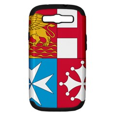 Naval Jack Of Italian Navy  Samsung Galaxy S Iii Hardshell Case (pc+silicone) by abbeyz71