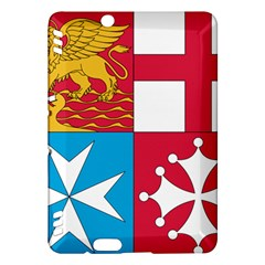 Naval Jack Of Italian Navy  Kindle Fire Hdx Hardshell Case by abbeyz71