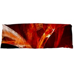 Red Abstract Pattern Texture Body Pillow Case Dakimakura (two Sides)