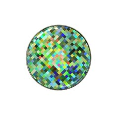 Pixel Pattern A Completely Seamless Background Design Hat Clip Ball Marker by Nexatart