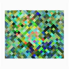 Pixel Pattern A Completely Seamless Background Design Small Glasses Cloth (2 Side) by Nexatart