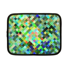 Pixel Pattern A Completely Seamless Background Design Netbook Case (small)  by Nexatart