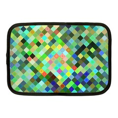 Pixel Pattern A Completely Seamless Background Design Netbook Case (medium)