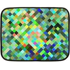 Pixel Pattern A Completely Seamless Background Design Double Sided Fleece Blanket (mini)