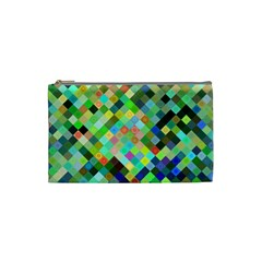 Pixel Pattern A Completely Seamless Background Design Cosmetic Bag (small)