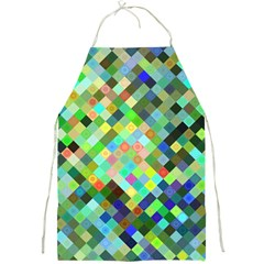Pixel Pattern A Completely Seamless Background Design Full Print Aprons