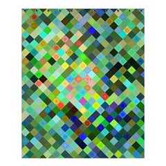 Pixel Pattern A Completely Seamless Background Design Shower Curtain 60  X 72  (medium)