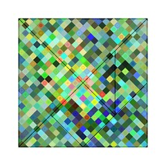 Pixel Pattern A Completely Seamless Background Design Acrylic Tangram Puzzle (6  X 6 )