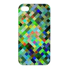 Pixel Pattern A Completely Seamless Background Design Apple Iphone 4/4s Premium Hardshell Case