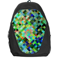 Pixel Pattern A Completely Seamless Background Design Backpack Bag