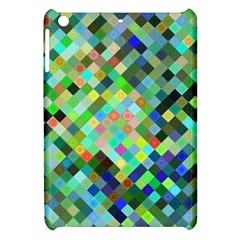 Pixel Pattern A Completely Seamless Background Design Apple Ipad Mini Hardshell Case by Nexatart