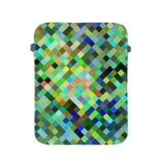 Pixel Pattern A Completely Seamless Background Design Apple Ipad 2/3/4 Protective Soft Cases by Nexatart