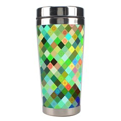 Pixel Pattern A Completely Seamless Background Design Stainless Steel Travel Tumblers by Nexatart