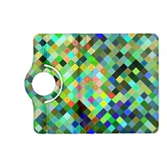 Pixel Pattern A Completely Seamless Background Design Kindle Fire Hd (2013) Flip 360 Case by Nexatart