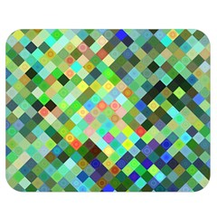 Pixel Pattern A Completely Seamless Background Design Double Sided Flano Blanket (medium)  by Nexatart