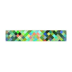 Pixel Pattern A Completely Seamless Background Design Flano Scarf (mini)