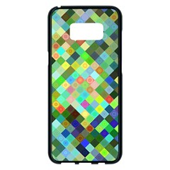 Pixel Pattern A Completely Seamless Background Design Samsung Galaxy S8 Plus Black Seamless Case
