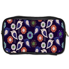 Cute Birds Seamless Pattern Toiletries Bags