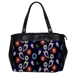 Cute Birds Seamless Pattern Office Handbags by Nexatart