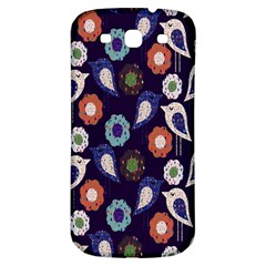 Cute Birds Seamless Pattern Samsung Galaxy S3 S Iii Classic Hardshell Back Case by Nexatart