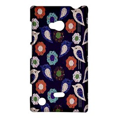 Cute Birds Seamless Pattern Nokia Lumia 720