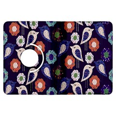 Cute Birds Seamless Pattern Kindle Fire Hdx Flip 360 Case by Nexatart