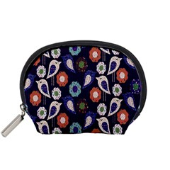 Cute Birds Seamless Pattern Accessory Pouches (small)