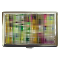 Woven Colorful Abstract Background Of A Tight Weave Pattern Cigarette Money Cases