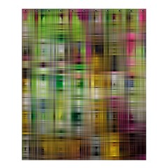 Woven Colorful Abstract Background Of A Tight Weave Pattern Shower Curtain 60  X 72  (medium)