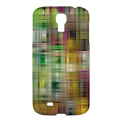 Woven Colorful Abstract Background Of A Tight Weave Pattern Samsung Galaxy S4 I9500/i9505 Hardshell Case
