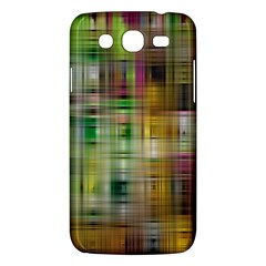 Woven Colorful Abstract Background Of A Tight Weave Pattern Samsung Galaxy Mega 5 8 I9152 Hardshell Case  by Nexatart