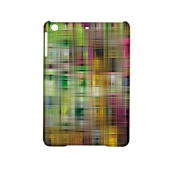 Woven Colorful Abstract Background Of A Tight Weave Pattern Ipad Mini 2 Hardshell Cases