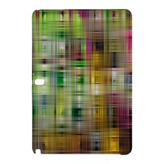 Woven Colorful Abstract Background Of A Tight Weave Pattern Samsung Galaxy Tab Pro 10 1 Hardshell Case by Nexatart